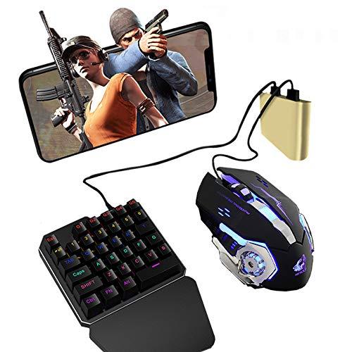 OUYAWEI PUBG Handy Game Controller Maus Tastatur Battledock Converter