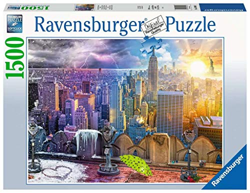 Ravensburger Puzzle - Le Stagioni di New York, 16008 2