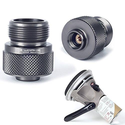 G Works EPI Gas Adapter Duralumin Ultralight 45g LPG Device to Use Butane
