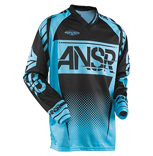 Answer Racing A17.5 Syncron Men's Off-Road Motorcycle Jersey - Blue/Black/Medium