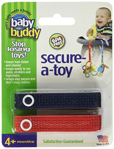 Marque Baby Buddy - Secure-A-Toy, MARINE-RED