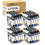 Palmtree Compatible Cartucho de tinta Brother LC123 Para Brother MFC-J6520DW MFC-J6720DW DCP-J132W DCP-J152W DCP-J172W DCP-J4110DW MFC-J4410DW MFC-J4510DW MFC-J4610DW MFC-J470DW MFC-J4710DW DCP-J552DW