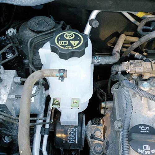 w//Cap 95352005 TIKSCIENCE Coolant Radiator Reservoir Tank Bottle for Chevy Spark 2013-2015