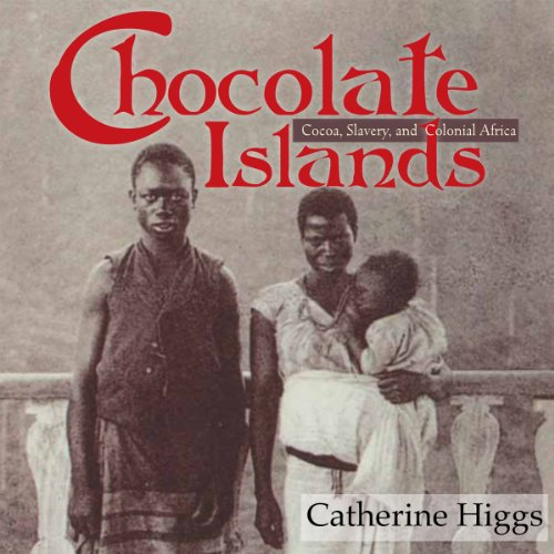Chocolate Islands audiobook cover art