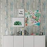 Hode Holz Folie Selbstklebend 30X300cm Blau, Aufkleber für Möbel, Küchenwand, Arbeitsplatte, Klebefolie Holzoptik,Tapete Selbstklebend