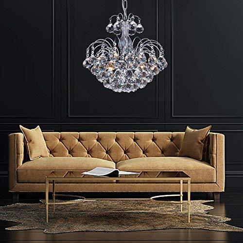 AI LI WEI Juan mooie lampen/European-stijl fontein art kristal, creatieve bar tafel, ronde deken