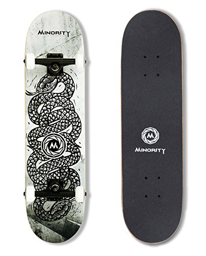 Big Save! MINORITY 32inch Maple Skateboard (Snake)