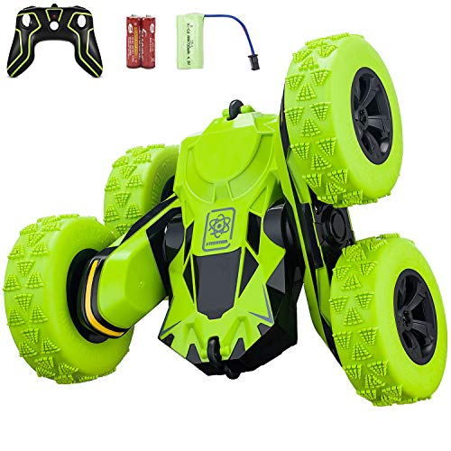 Remote Control Car, RC Stunt Car, 360 Degree Flips Double Sided Rotating...