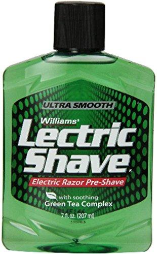 Williams Lectric Shave Electric Razor Pre-Shave, Original 7 fl oz...