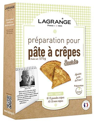 Lagrange Préparation pour Pâte à Crêpes Sucrées