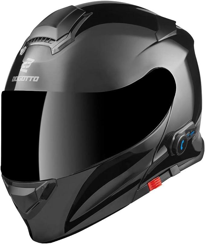 Bogotto V271 Bt Bluetooth Flip Up Helmet Auto