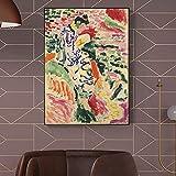 Henri Matisses abstrakte Kunstwerke von Mädchen, die
