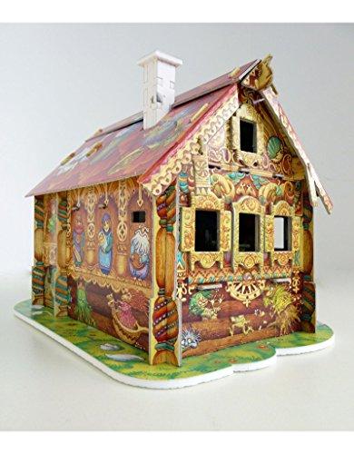CLEVER PAPER  Puzzles 3D Mi Primera casa de muñecas II (142062)
