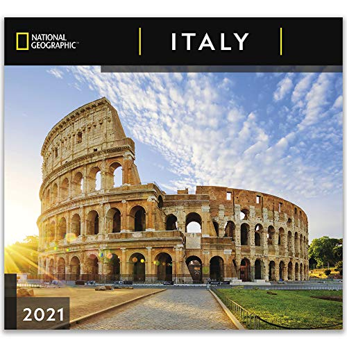 National Geographic Italy 2021 Wall Calendar
