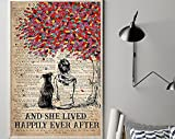 Dog Pitbull Happily Ever After – Love Dogs Poster,