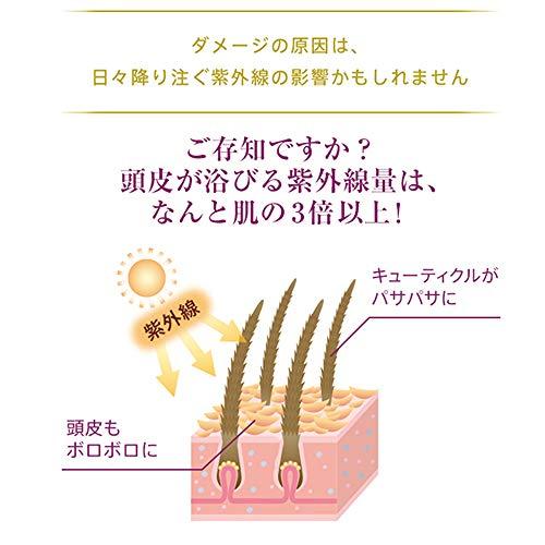 ラサーナLasana海藻スムースヘアミルク120g(フローラル&フルーティの香り)しっとりまとまる朝用紫外線対策