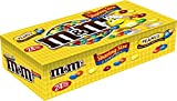 M&M'S Peanut Chocolate Candy Sharing Size Pouch 3.27 Ounce (Pack of 24)