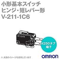 オムロン(OMRON) V-211-1C6 形V小形基本スイッチ (ヒンジ・短レバー形) NN