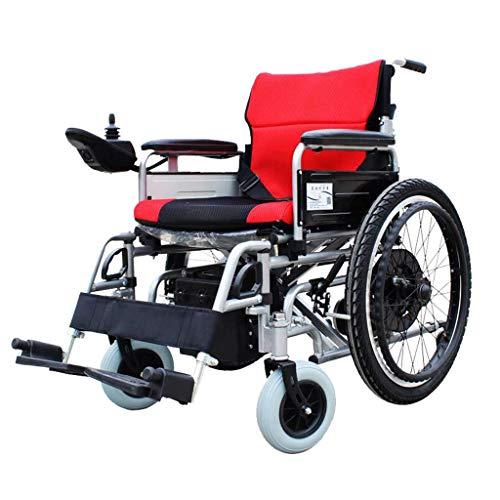 DYB Rory Power Wheelchair, intelligenter automatischer Allrad-Rollstuhl mit manuellem/elektrischem Dual-Modus für Behinderte und ältere Menschen