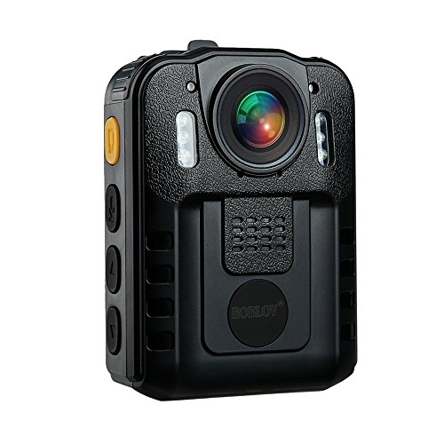 BOBLOV WN9 1296P Body Wearable Camera Support Memory Expand Max 128G Lightweight and Portable Easy to Operate (Card not Included) (Body Camera)
