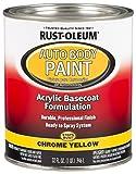 Rust-Oleum 275236 Chrome Yellow Automotive Auto Body Paint - 32 oz.