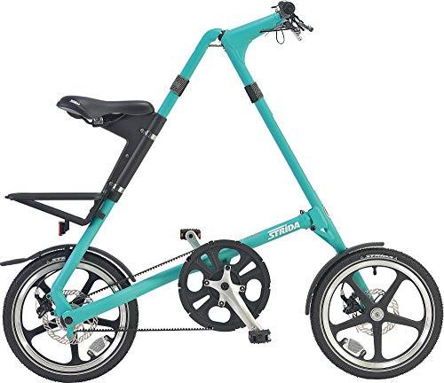 2019 STRIDA(ストライダ) 16インチ折りたたみ自転車 シングルスピード アルミフレーム 前後ディスクブレー...