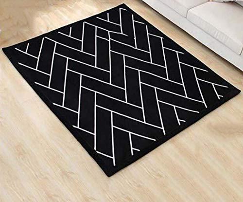 Soft-Vorleger für Schlafzimmer verdicken Tatami Teppich für Schlafzimmer Wohnzimmer Couchtisch Teppich,80x200cm