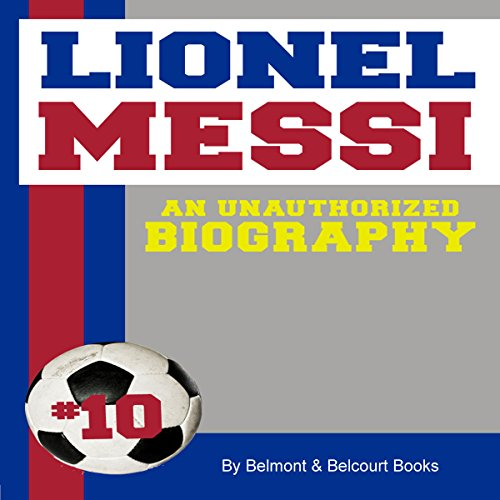 Lionel Messi audiobook cover art