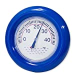 Schwimmbad Pool Thermometer DeLuxe mit Schwimmring