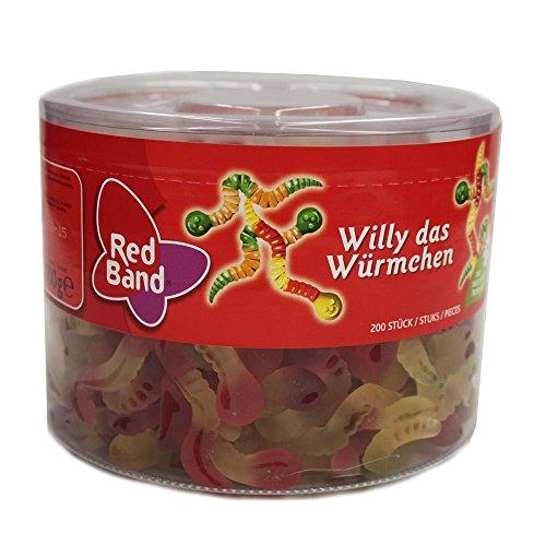 Red Band Willy das Würmchen, 1 x 1100g Dose