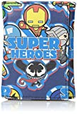 Marvel Men's Kawaii Superheroes Trifold Wallet in Collectible Tin Box, One Size