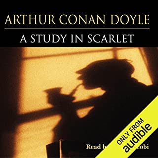A Study in Scarlet                   By:                                                                                                                                 Arthur Conan Doyle                               Narrated by:                                                                                                                                 Derek Jacobi                      Length: 4 hrs and 41 mins     4 ratings     Overall 4.5