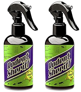 Rodent Sheriff Pest Control - Ultra-Pure Peppermint Spray - Repels Mice Raccoons Ants and More - Made in USA  2