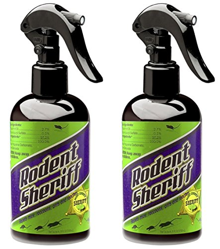 Rodent Sheriff Pest Control - Ultra-Pure Peppermint Spray - Repels Mice, Raccoons, Ants, and More -...