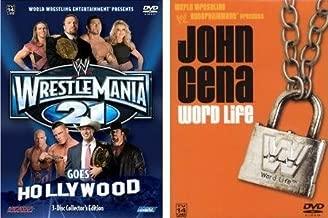 WWE Value Pack - Wrestlemania 21 Goes Hollywood / John Cena Word Life
