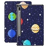 Funda para Galaxy Tab S7 Funda Delgada y Ligera con Soporte para Tableta Samsung Galaxy Tab S7 de 11 Pulgadas Sm-t870 Sm-t875 Sm-t878 2020 Release, Set Solar System Planets Mercury Venus