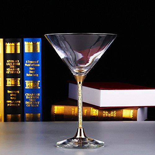 JARONG Tasse À Vin Rouge Crystal Bar