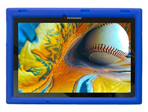 Bobj for Lenovo Tab 2 A10-70, A10-70F and Lenovo Tab 3 TB3-X70L, TB3-X70F – BobjGear Protective Tablet Cover (Batfish Blue) (not for Tab 2 A10-30)