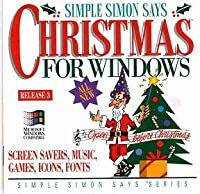 Simple Simon Says Christmas For Windows : Screen Savers, Music, Games, Icons, Fonts, Etc. (輸入版)