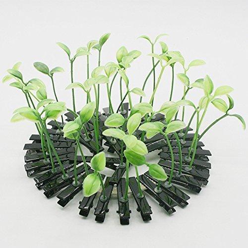 cuhair (TM) mignon bébé fille 10 Manga Bean Sprouts conception Pince à cheveux pince broches Barrettes à frange Accessoires