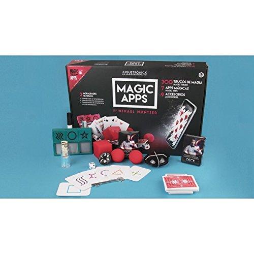 Juguetrónica - Magic apps 300 trucos - Kit de magia que te permite aprender a hacer 300 trucos