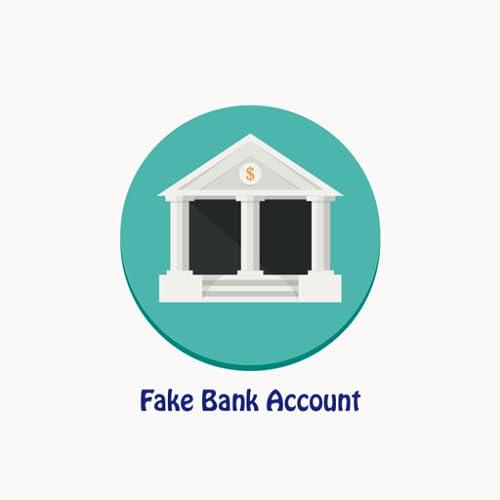 Fake Bank Account
