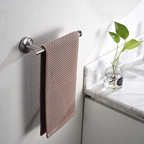 Hand Towel BarBath Towel Ring Brushed Nickel Hand Towel Holder 9Inch Bathroom Stainless Steel Towel Rack Wall Mount Hb-101-D2