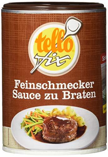 tellofix Feinschmecker-Sauce , 1er Pack (1 x 188 g Packung)