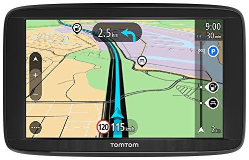 TomTom Navigatore Satellitare per Auto Start 62, con Mappe Europa, Aggiornamenti Tutor e Autovelox di Prova, Supporto Reversibile Integrato , 6 Pollici