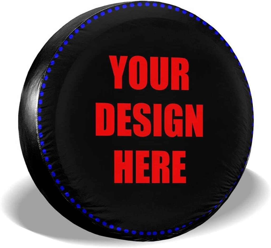 Limited time trial price HOUSEGUARDS Custom Spare Tire Cover half Add Your Own Te Personalized