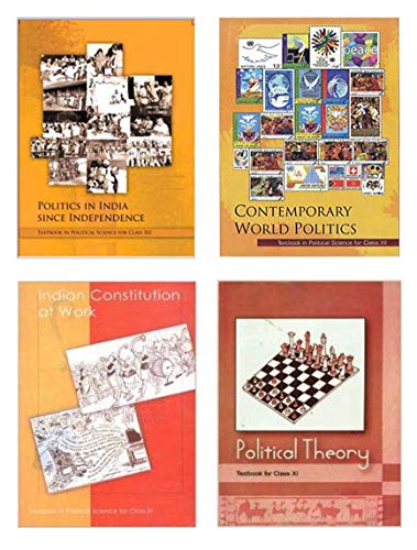 NCERT Textbook in Political Science for Class - 11 AND Class - 12 (COMBO)