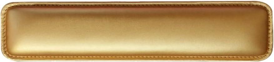 Ordinateurs de Bureau et de Couleurs en Noir// Blanc// Or// Rose Alxcio Repose Poignet Clavier Souple PU en cuir Repose-poignet pour Clavier avec Mousse de Remplissage Pad Anti-d/érapant pour PC