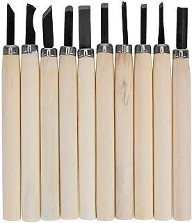 Juego de 10 herramientas de mano para tallar madera