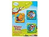 Winnie the Pooh - 3 Verschiedene Aufbügel Flicken -